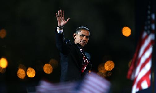 Obama wins Presidency