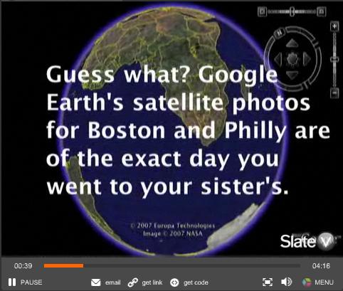 Google Earth's Downside