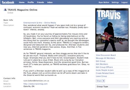 TRAVIS Magazine Online