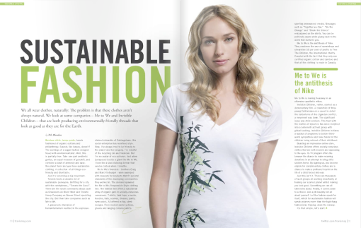Sustainable Fashio